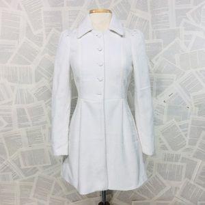 Jack By BB Dakota Dress Coat White Peacoat